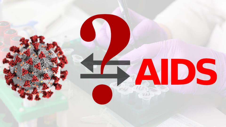 ایدز و کرونا